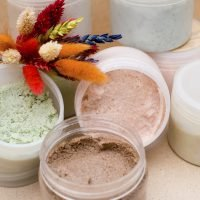 English Ivy body scrub